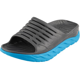 Hoka One One Ora Recovery Slide 2 Sandals Men ebony/dresden blue